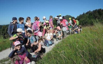 Učenci 4. razreda osvojili polhograjsko Grmado